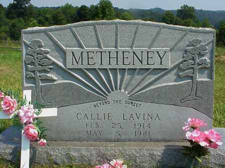METHENEY, CALLIE LAVINA - Meigs County, Ohio | CALLIE LAVINA METHENEY - Ohio Gravestone Photos
