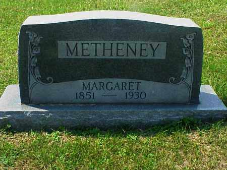 METHENEY, MARGARET - Meigs County, Ohio | MARGARET METHENEY - Ohio Gravestone Photos