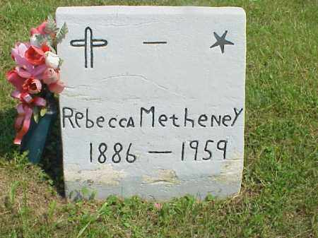 METHENEY, REBECCA - Meigs County, Ohio | REBECCA METHENEY - Ohio Gravestone Photos
