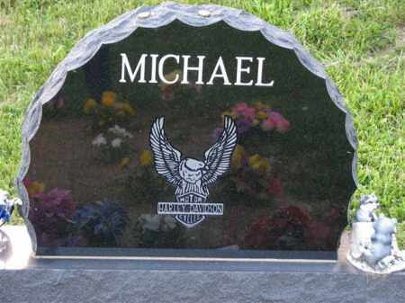 MICHAEL  BACK OF STONE, TIMOTHY DAVID - Meigs County, Ohio | TIMOTHY DAVID MICHAEL  BACK OF STONE - Ohio Gravestone Photos