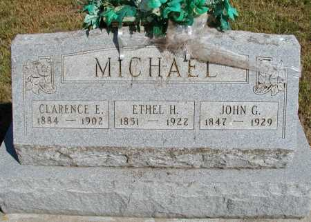 HUDNELL MICHAEL, ETHEL H. - Meigs County, Ohio | ETHEL H. HUDNELL MICHAEL - Ohio Gravestone Photos