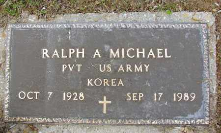 MICHAEL, RALPH A - Meigs County, Ohio | RALPH A MICHAEL - Ohio Gravestone Photos