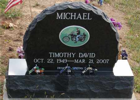 MICHAEL, TIMOTHY DAVID - Meigs County, Ohio | TIMOTHY DAVID MICHAEL - Ohio Gravestone Photos