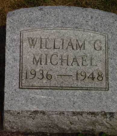MICHAEL, WILLIAM G. - Meigs County, Ohio | WILLIAM G. MICHAEL - Ohio Gravestone Photos