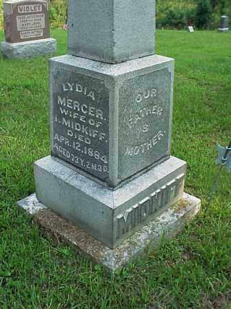 MERCER MIDKIFF, LYDIA - Meigs County, Ohio | LYDIA MERCER MIDKIFF - Ohio Gravestone Photos