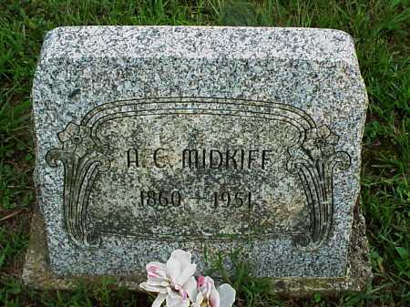 MIDKIFF, A. C. - Meigs County, Ohio | A. C. MIDKIFF - Ohio Gravestone Photos