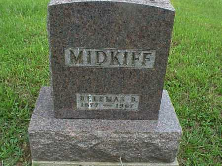 MIDKIFF, BELEMAS B. - Meigs County, Ohio | BELEMAS B. MIDKIFF - Ohio Gravestone Photos