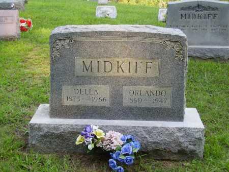 SHUMWAY MIDKIFF, DELLA V. - Meigs County, Ohio | DELLA V. SHUMWAY MIDKIFF - Ohio Gravestone Photos