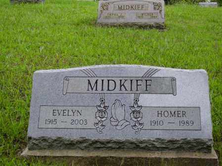 MIDKIFF, HOMER - Meigs County, Ohio | HOMER MIDKIFF - Ohio Gravestone Photos