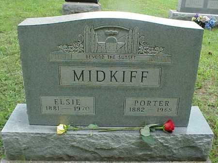 MIDKIFF, PORTER - Meigs County, Ohio | PORTER MIDKIFF - Ohio Gravestone Photos