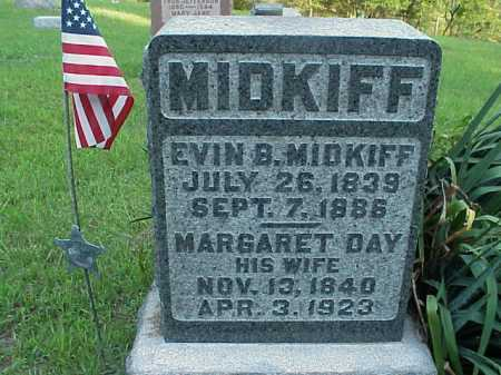 DAY MIDKIFF, MARGARET - Meigs County, Ohio | MARGARET DAY MIDKIFF - Ohio Gravestone Photos