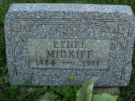 MIDKIFF, ETHEL - Meigs County, Ohio | ETHEL MIDKIFF - Ohio Gravestone Photos