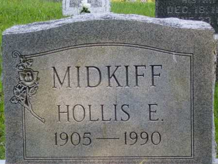MIDKIFF, HOLLIS E. - Meigs County, Ohio | HOLLIS E. MIDKIFF - Ohio Gravestone Photos