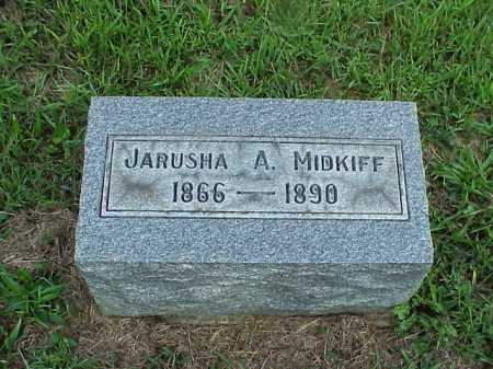 MIDKIFF, JARUSHA A. - Meigs County, Ohio | JARUSHA A. MIDKIFF - Ohio Gravestone Photos
