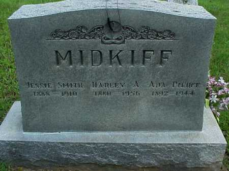 MIDKIFF, JESSIE - Meigs County, Ohio | JESSIE MIDKIFF - Ohio Gravestone Photos