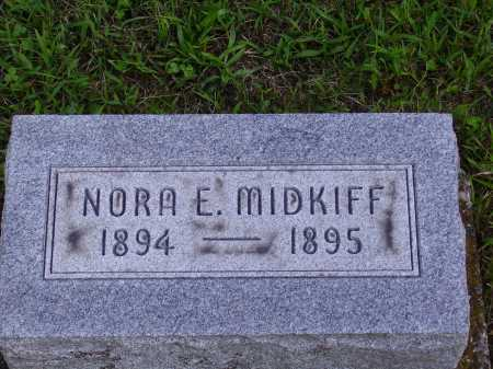 MIDKIFF, NORA E. - Meigs County, Ohio | NORA E. MIDKIFF - Ohio Gravestone Photos