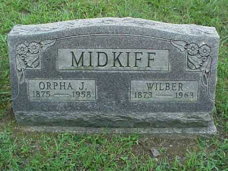 MIDKIFF, WILBER - Meigs County, Ohio | WILBER MIDKIFF - Ohio Gravestone Photos