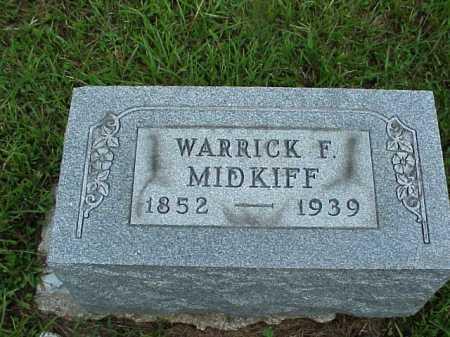MIDKIFF, WARRICK F. - Meigs County, Ohio | WARRICK F. MIDKIFF - Ohio Gravestone Photos