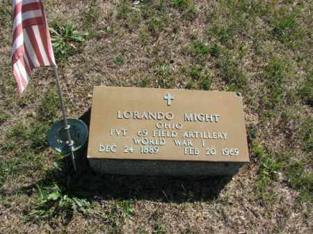 MIGHT, LORANDO - Meigs County, Ohio | LORANDO MIGHT - Ohio Gravestone Photos