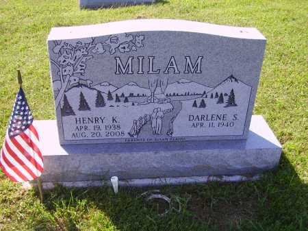 MILAM, HENRY K. - Meigs County, Ohio | HENRY K. MILAM - Ohio Gravestone Photos