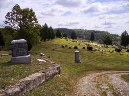 MILES CEMETERY, OVERALL VIEW 5 - Meigs County, Ohio | OVERALL VIEW 5 MILES CEMETERY - Ohio Gravestone Photos