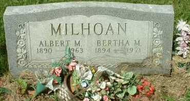 MILHOAN, BERTHA M. - Meigs County, Ohio | BERTHA M. MILHOAN - Ohio Gravestone Photos