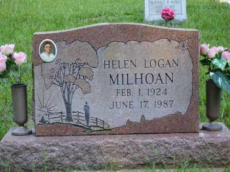 LOGAN MILHOAN, HELEN - Meigs County, Ohio | HELEN LOGAN MILHOAN - Ohio Gravestone Photos