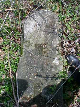MILLER, ANNA MARIA - Meigs County, Ohio | ANNA MARIA MILLER - Ohio Gravestone Photos