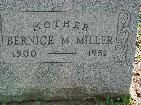 MILLER, BERNICE M. - Meigs County, Ohio | BERNICE M. MILLER - Ohio Gravestone Photos