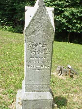MILLER, CORA L. - Meigs County, Ohio | CORA L. MILLER - Ohio Gravestone Photos