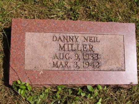 MILLER, DANNY NEIL - Meigs County, Ohio | DANNY NEIL MILLER - Ohio Gravestone Photos