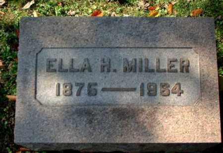 MILLER, ELLA H. - Meigs County, Ohio | ELLA H. MILLER - Ohio Gravestone Photos