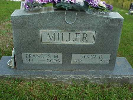 MILLER, FRANCES M. - Meigs County, Ohio | FRANCES M. MILLER - Ohio Gravestone Photos