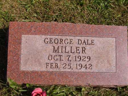 MILLER, GEORGE DALE - Meigs County, Ohio | GEORGE DALE MILLER - Ohio Gravestone Photos