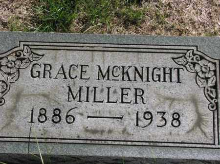 MCKNIGHT MILLER, GRACE - Meigs County, Ohio | GRACE MCKNIGHT MILLER - Ohio Gravestone Photos