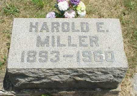 MILLER, HAROLD E. - Meigs County, Ohio | HAROLD E. MILLER - Ohio Gravestone Photos