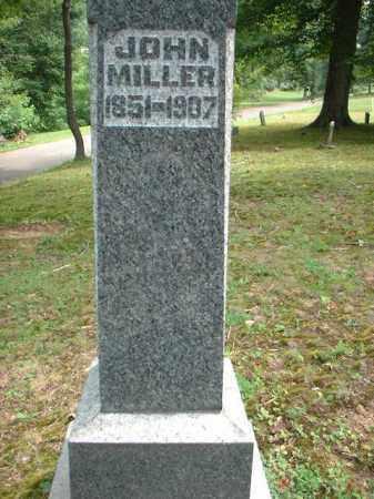 MILLER, JOHN - Meigs County, Ohio | JOHN MILLER - Ohio Gravestone Photos