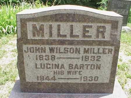 MILLER, JOHN WILSON - Meigs County, Ohio | JOHN WILSON MILLER - Ohio Gravestone Photos