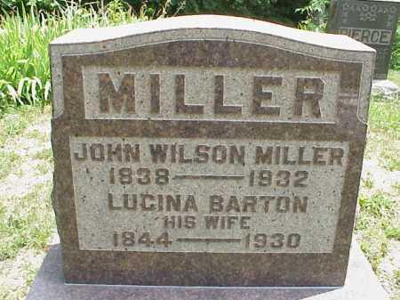 BARTON MILLER, LUCINA - Meigs County, Ohio | LUCINA BARTON MILLER - Ohio Gravestone Photos