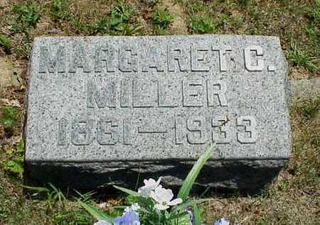 MILLER, MARGARET C. - Meigs County, Ohio | MARGARET C. MILLER - Ohio Gravestone Photos