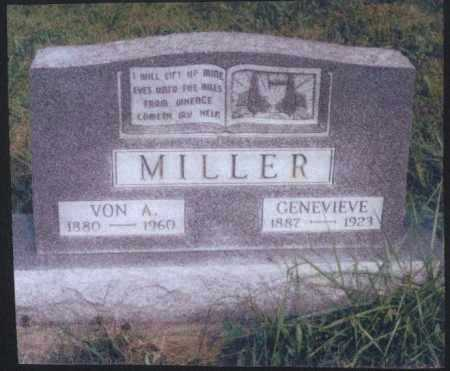 MILLER, VON A. - Meigs County, Ohio | VON A. MILLER - Ohio Gravestone Photos