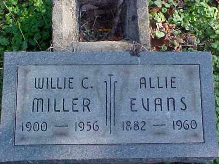 MILLER, ALLIE - Meigs County, Ohio | ALLIE MILLER - Ohio Gravestone Photos