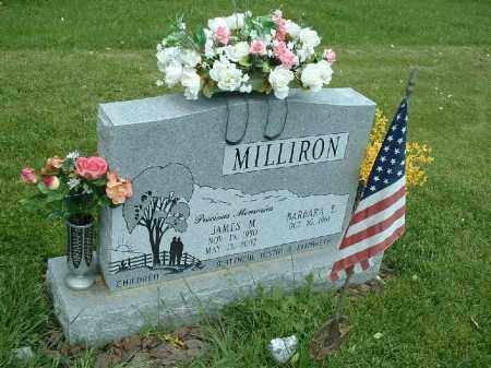 MILLIRON, BARBARA E. - Meigs County, Ohio | BARBARA E. MILLIRON - Ohio Gravestone Photos