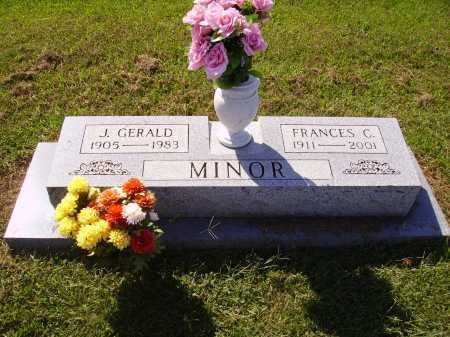 MINOR, FRANCES C. - Meigs County, Ohio | FRANCES C. MINOR - Ohio Gravestone Photos