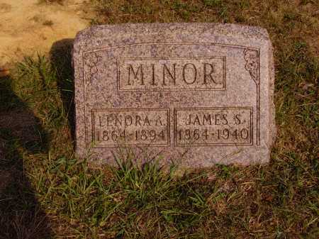 MINOR, JAMES S. - Meigs County, Ohio | JAMES S. MINOR - Ohio Gravestone Photos