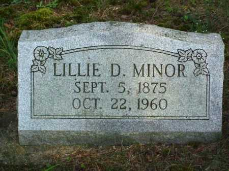 SAXTON MINOR, LILLIE D. - Meigs County, Ohio | LILLIE D. SAXTON MINOR - Ohio Gravestone Photos