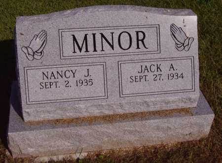 MINOR, NANCY J. - Meigs County, Ohio | NANCY J. MINOR - Ohio Gravestone Photos