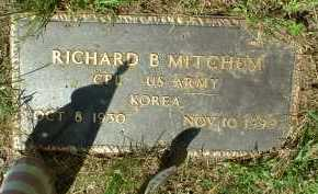 MITCHEM, RICHARD B. - Meigs County, Ohio | RICHARD B. MITCHEM - Ohio Gravestone Photos
