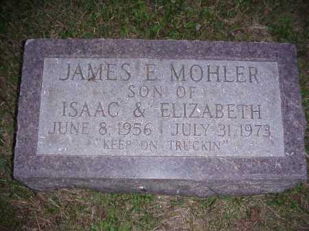MOHLER, JAMES E. - Meigs County, Ohio | JAMES E. MOHLER - Ohio Gravestone Photos