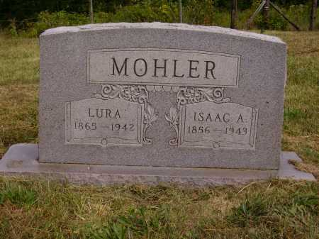 WISE MOHLER, LURA - Meigs County, Ohio | LURA WISE MOHLER - Ohio Gravestone Photos